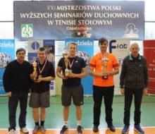 XXI Mistrzostwa kleryków w tenisie stołowym (1)