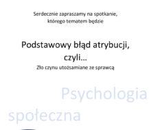 plakat – k. naukowe M.Z.
